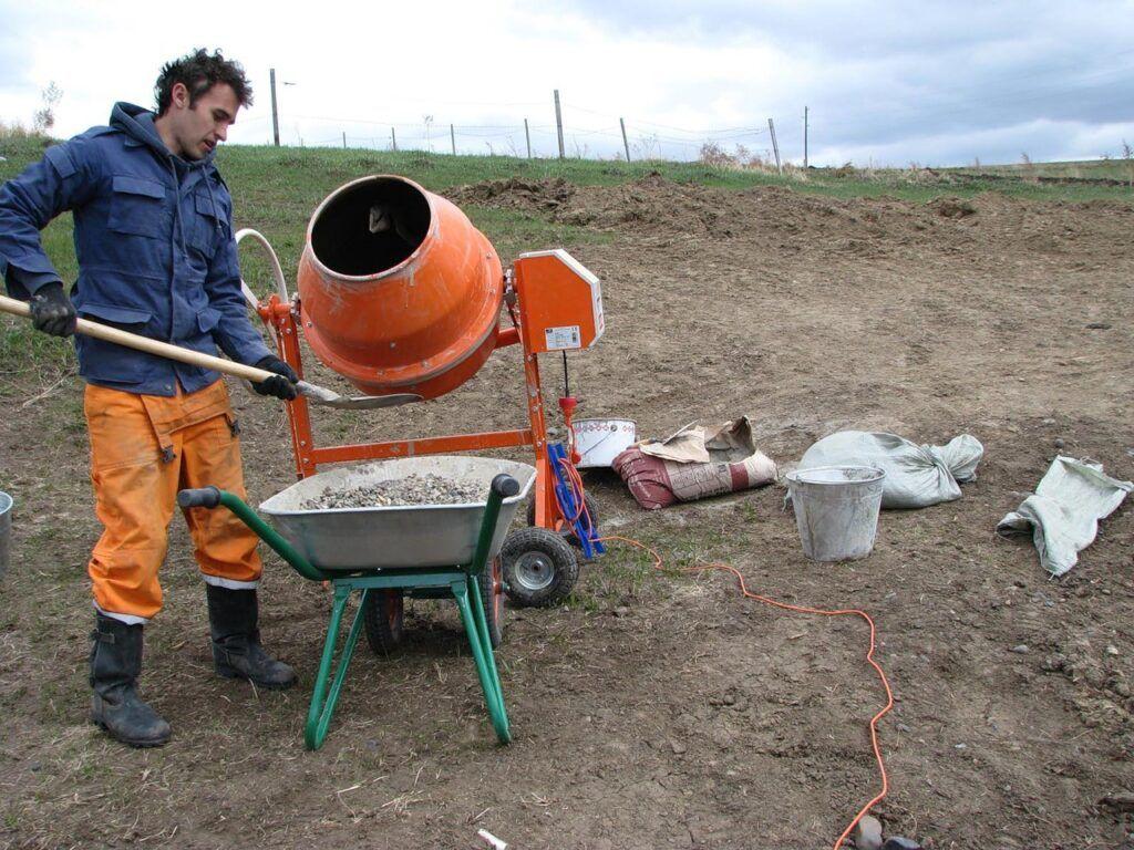 бетон приготовление