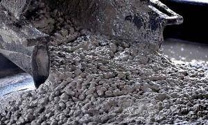 бетон на гравии