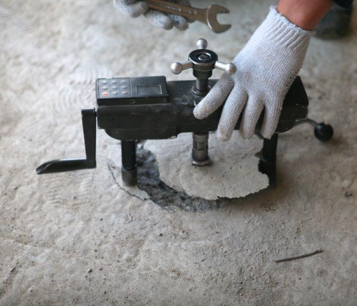 разрушающий метод контроля бетона